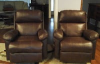 2 Recliners @ great price Hurst