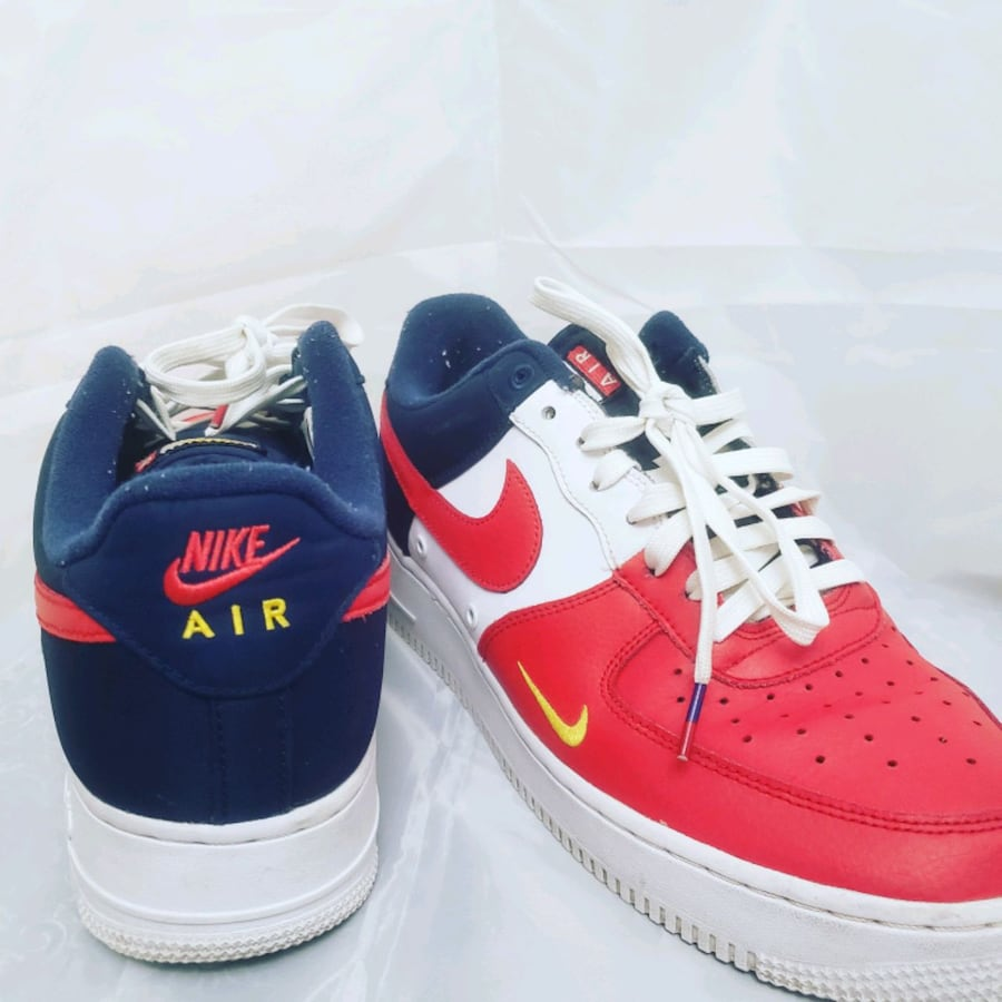 Size 11 Nike Air Force 1's 4th of july Independence Day colorway