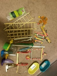 Lots of Budgie/Canary/Lovebird Cage Accessories! Calgary, T2X 1Z6