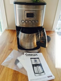 NEW Cuisinart DCC-3400 12-Cup Programmable Thermal Coffeemaker, Stainless Steel Pickering