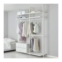 Elvarli IKEA Shelving System - read description Calgary