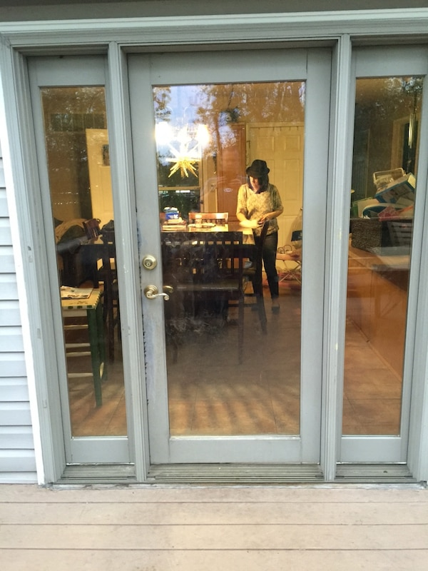 Used 72 X 80 Patio Door With Sidelights That Open For Sale In