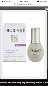 New Declare Youth Supreme Concentrate Serum Anti-Wrinkle 50ml/1.7oz Montréal, H4G 1M2