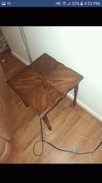 brown wooden drop leaf table Idaho Falls