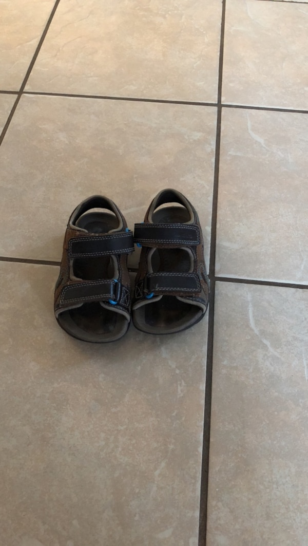 a0dc50a0a4a92a Used Pair of black sandals for sale in Bay City - letgo