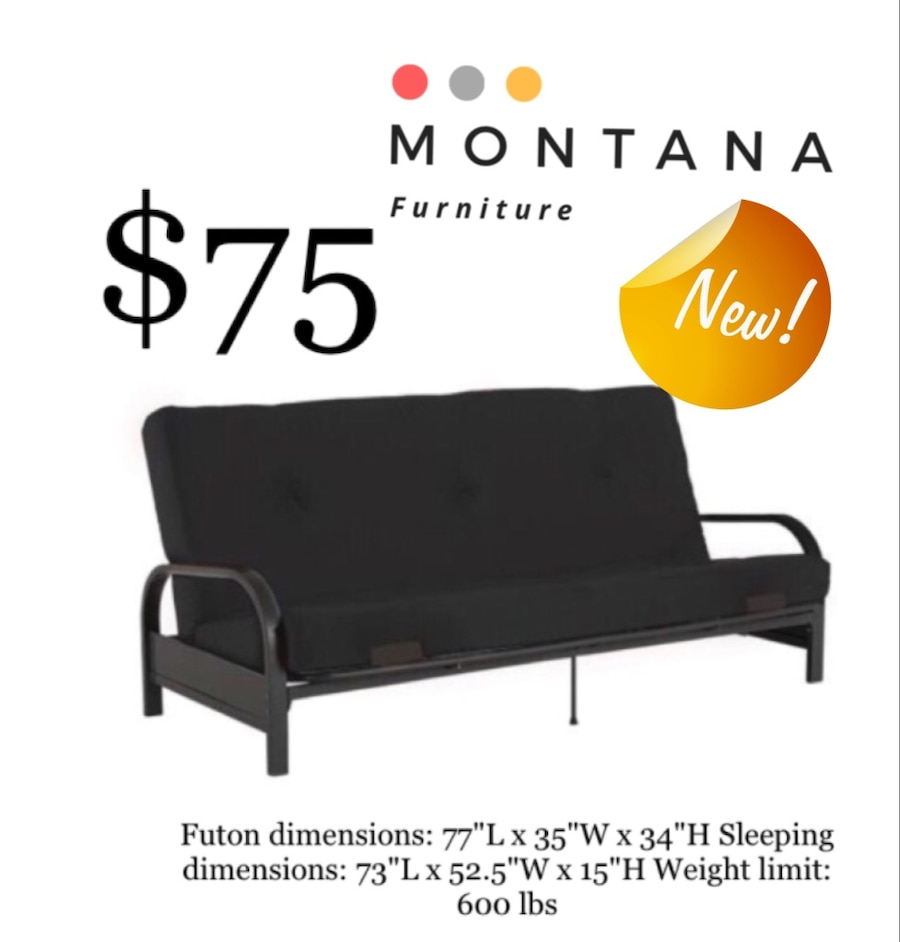 used brand new futon new in box price is firm for sale in fort rh tr letgo com