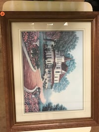 Brown wood frame picture of Victorian house Wilmington, 19805