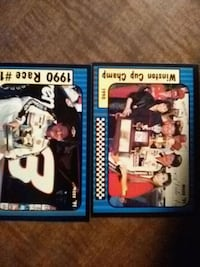 two assorted NBA trading cards 295 mi