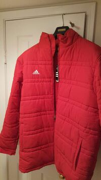 Adidas Red sport long Jacket. 40 km