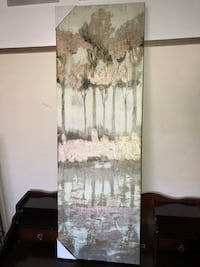 New trees canvas picture 3 by 1 feet San Francisco, 94116