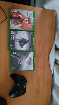 xbox one controller and games Pitt Meadows, V3Y 1B7