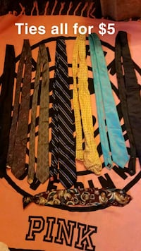 Ties all for $5 Sioux Falls, 57105