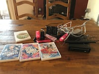 Wii 3 remotes and 4 games Phoenix, 85032