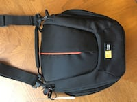 Brand new camera bag For compact or hybrid cameras. Space for camera, batteries, cords, etc   Made by case logic case with tag