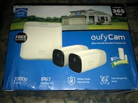 EUFY IP67 WIRE FREE HD SECURITY SET 2 CAMERAS 2 ENTRY SENSORS 1080PHD  Inwood, 25428