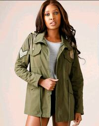 women's  button up jacket Lamar, 29069