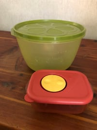 Tupperware & Rubbermaid containers