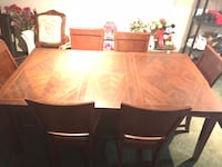 Gone today! Solid wood dining set  Markham, L3P 6X4