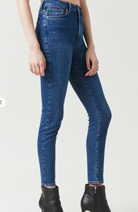 High Waisted Dark Denim Jeans - Recently purchased. Toronto