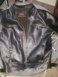 Genuine Guess leather jacket for men