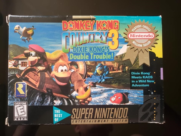 OPEN TO OFFERS - Donkey Kong Country 3 CIB for Super Nintendo (SNES)