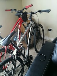 black and red hardtail mountain bike Surrey, V3W 1P9