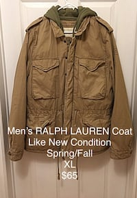 SALE $50 Men's RALPH LAUREN Jacket Lincoln, L0R