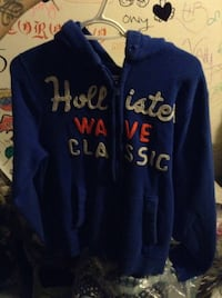Hollister Blue zip-up hoodie Toronto, M3M 1R9