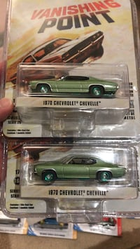Greenlight 1970 Chevy Chevelle green machine chase car