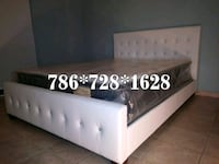 NEW BEAUTIFUL QUEEN DIAMOND BED WITH MATTRESS SET North Miami, 33161