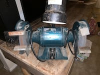 Black and Decker two wheel grinder with light. Asking $60 OBO Alexandria, 22311