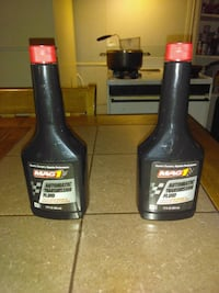 two Mag1 automatic transmission fluid bottles