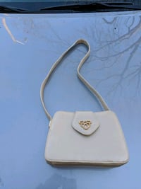 white and brown leather crossbody bag Hamilton, L8G 2G1
