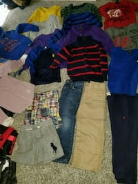 KIDS 18 PIECE RALPH LAUREN LOT SIZE 4/4T Fountain Inn, 29644