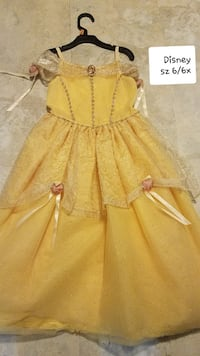 Disney sz 6/6x princess dress Thurmont