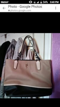 black and brown leather tote bag New Port Richey, 34652