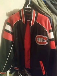 Montreal Canadians Leather Jacket