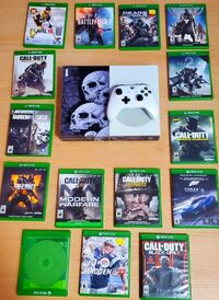 xbox one S 1Tb with 17 games
