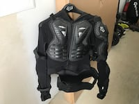 black and gray motorcycle jacket Chilliwack, V2R 0R4