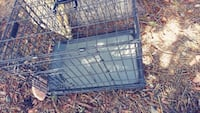 black metal folding dog crate Colorado Springs