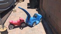 blue and black ride on toy car Los Angeles, 90022
