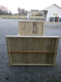 Queen size crate bed crates included Woodburn, 46797