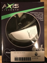 BRAND NEW Axis Strength Heart Rate Monitor Toronto, M4P 1R2