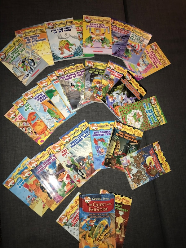 Geronimo Stilton .  30 Books