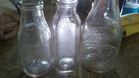 3 Vintage DAIRY BOTTLES,BILTMORE,Burke,sealtest Black Mountain, 28711