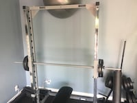 Smith machine with weights and weight holder Las Vegas, 89123