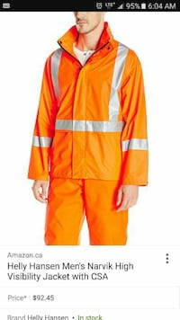 High Visibility Narvik Safety Jacket Toronto, M6M 4R5