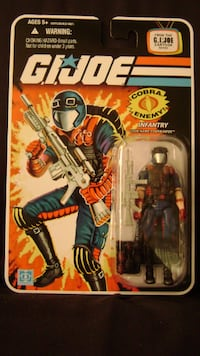 Cobra Viper Infantry (Bilingual Pack) G.I. Joe 25th Anniversary Richmond, V7A 2Z8