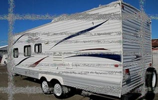2010 Jayco Jay Flight  Queen size bed