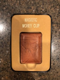 Brand New Redskins Leather Magnetic Money Clip Manassas, 20112